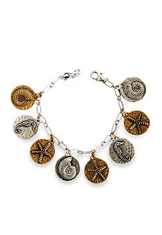 Lucky Brand Jewelry Sealife Charm Bracelet