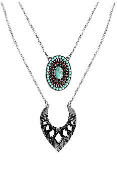 Lucky Brand Jewelry Double Layered Necklace