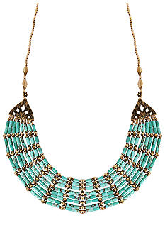 Lucky Brand Jewelry Beaded Collar Necklace