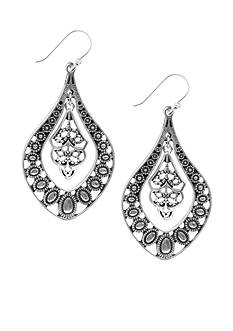 Lucky Brand Jewelry Oblong Earrings