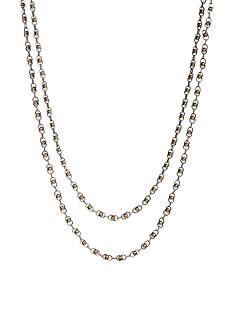 Lucky Brand Jewelry Two Tone Multistrand Necklace