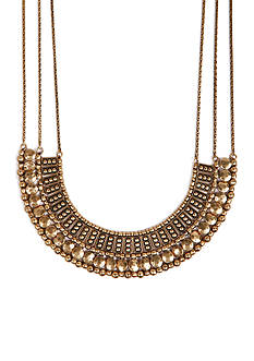 Lucky Brand Jewelry Textured Metal Necklace