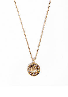 Lucky Brand Jewelry Openwork Delicate Pendant Necklace