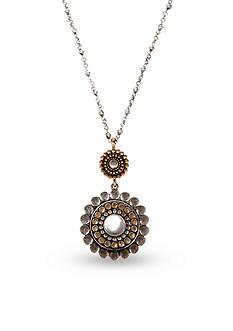 Lucky Brand Jewelry Bali Double Drop Pendant