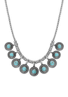 Lucky Brand Jewelry Turquoise Collar Necklace