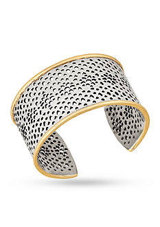 Lucky Brand Jewelry Abstract Openwork Cuff