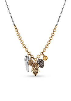 Lucky Brand Jewelry Owl Charm Necklace