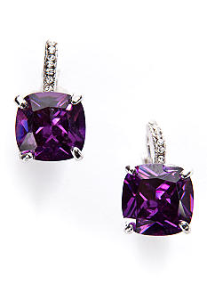 New Directions Cubic Zirconia Pave Earring