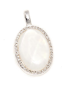 New Directions® Necklace - Oval Mother of Pearl Slide