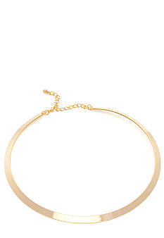 New Directions Flat Gold Collar
