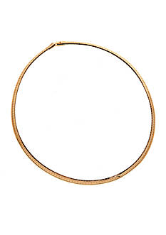 New Directions Gold Tone 18-in. Omega Collar