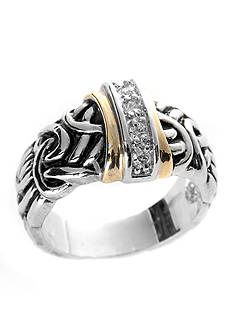 New Directions Antique Two-Tone Ring