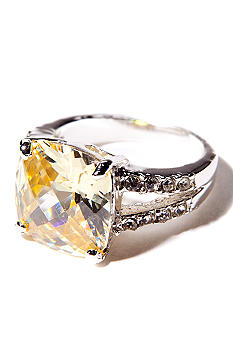 New Directions Jonquil and Pave Ring