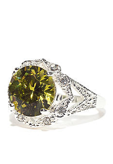 New Directions® Pave Olive Ring