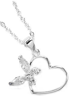New Directions® Heart and Butterfly Pendant