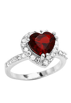 New Directions Pave Heart Ring