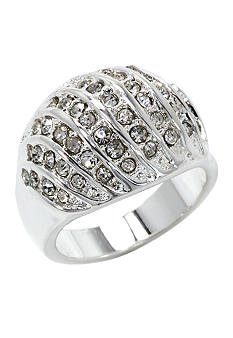 New Directions Pave Dome Ring