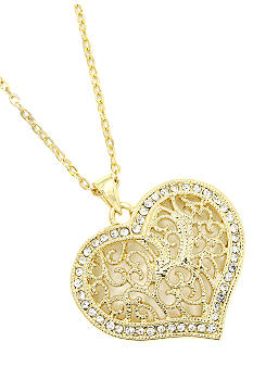 New Directions Open Heart Pendant