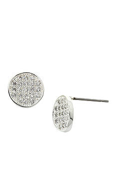 New Directions Pave Disc Earrings