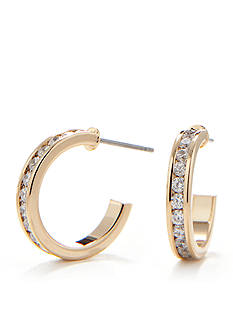 New Directions Classic Gold-Tone Hoop Earring