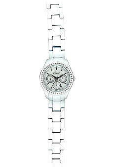 Kim Rogers Women's Round Analog Ceramic Watch