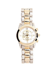 Kim Rogers Two Tone Bracelet Watch