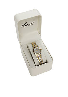 Kim Rogers Women's Two-Tone Bracelet Watch