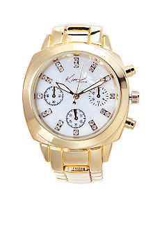 Kim Rogers Gold Chronograph Watch