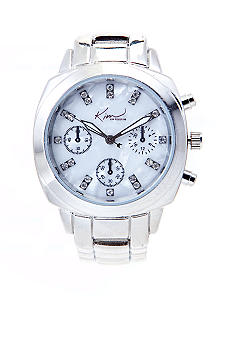 Kim Rogers Silver Chronograph Watch