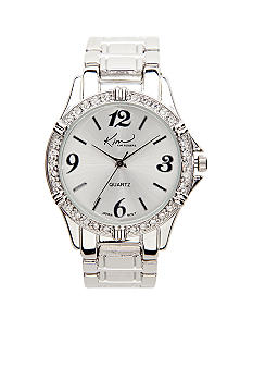 Kim Rogers Watch - Small Silver Boyfriend Style