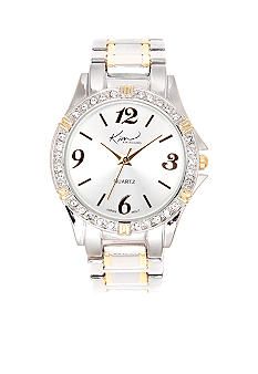 Kim Rogers Two Tone Silver Gold Watch