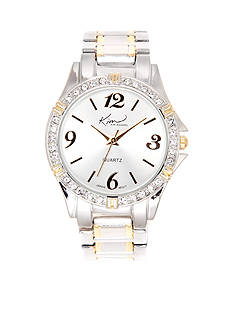 Kim Rogers Two-Tone Silver Gold Watch