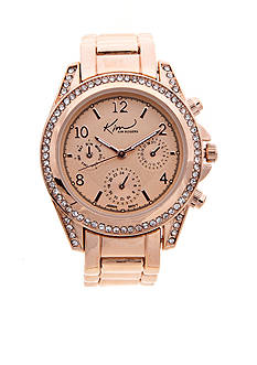 Kim Rogers Women's Rose Gold Chrono Dial Watch