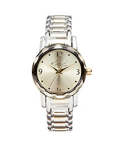 Kim Rogers Women's Two-Tone Analog Bracelet Watch