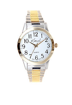 Kim Rogers Two Tone Metal Expansion Watch