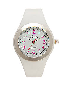 Kim Rogers White Silicone Watch
