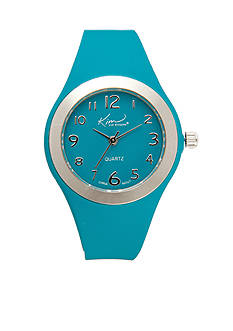 Kim Rogers Bright Blue Silicone Watch