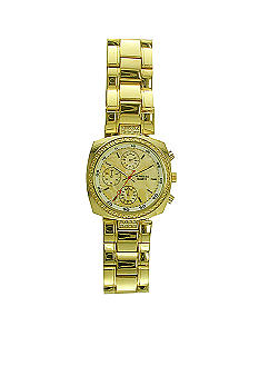 Kim Rogers Gold Metal Link Watch