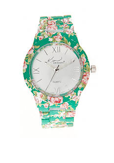 Kim Rogers Women's Floral Watch