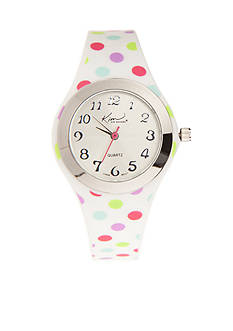 Kim Rogers Women's Polka Dot Watch
