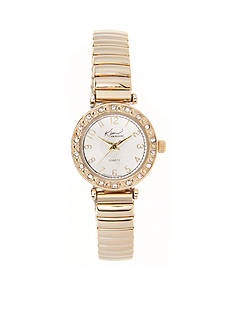 Kim Rogers Women's Gold-Tone Expansion Watch