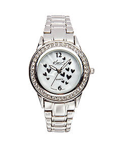 Kim Rogers Women's Silver-Tone Watch