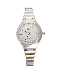 Kim Rogers Women's Silver Expansion Band Watch
