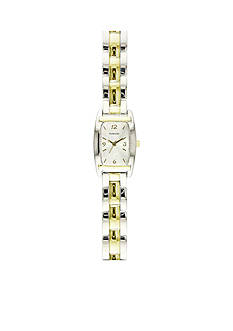 Kim Rogers Women's Two-Tone Rectangular Watch