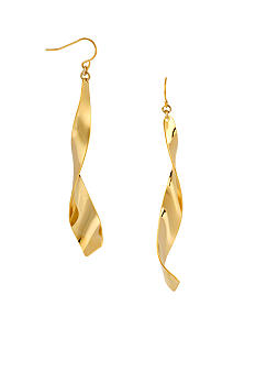 Robert Lee Morris Linear Twist Earring