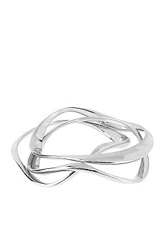 Robert Lee Morris Wavy Bangle Bracelet Set