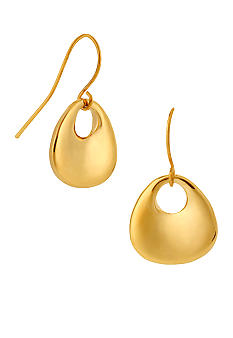 Robert Lee Morris Pebble Drop Earrings