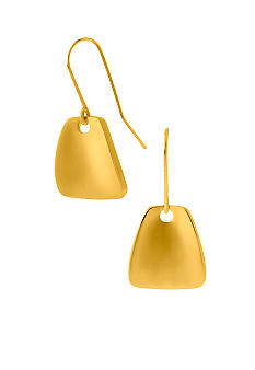 Robert Lee Morris Small Wedge Drop Earring