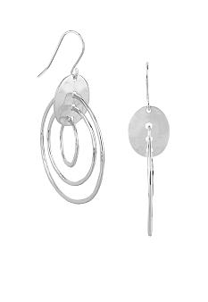 Robert Lee Morris Triple Orbital Drop Earrings