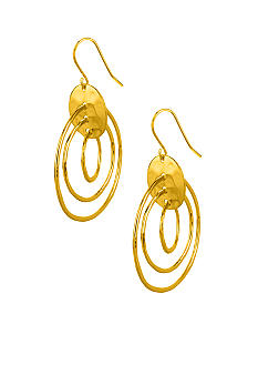 Robert Lee Morris Triple Orbital Drop Earring